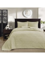 *King - Coverlet Set - Yellow - Final Sale