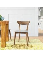 *Winona Dinning Chairs - Set 4 - Walnut