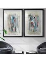 "*36.5"" x 26.5"" - Rain Shadow I - 2 Piece Painting Print Set"