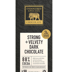 Endangered Species Endangered Species - Dark Chocolate Bar, Black Panther 88%