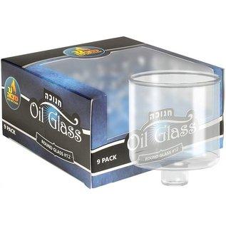 Ner Mitzvah #12 Straight Oil Glass Set