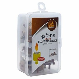 Ner Mitzvah *Ner Mitzvah Pre Assembled Floating Wicks - Approx 50