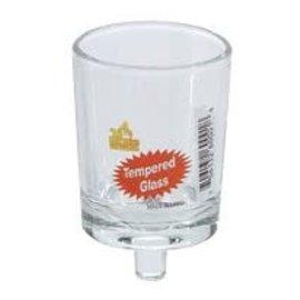 Ner Mitzvah *Neronim Votive Tempered Glass Cup