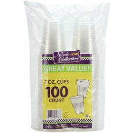 MISC 100 Count Cups 7oz