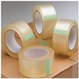Clear Strong Packaging Tape Roll - for Moving, Packaging,  DIY, Office