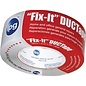 Duct Tape, 1.87 in W x 55 yd L, Poly Coated(Brand May Vary)