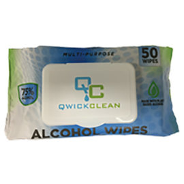 MISC 50 Pack Alcohol Sanitizing Wipes