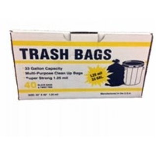 33 Gallon Tall Trash Bag - 40 count