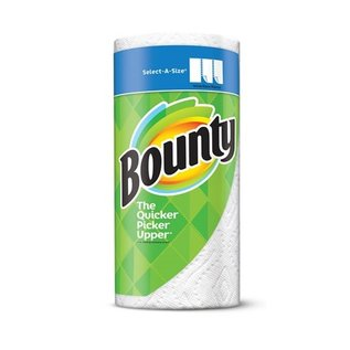 Bounty Bounty Perforated Paper Towel Roll, 2-Ply