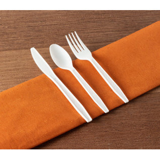 MISC 360 Piece Cutlery Combo (White)
