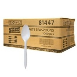 MISC 1000 Count Disposable White Spoons