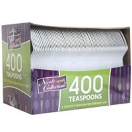 MISC 400 Count Disposable White Spoons