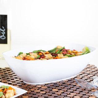 Bluesky Oval Salad Bowl 72 oz White