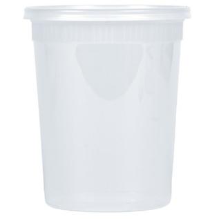 Bluesky 32oz deli container 4pk