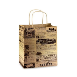 MISC News Print Bags 5 count