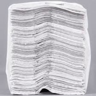 MISC White C-Fold Standard Weight Towel 150 Pack