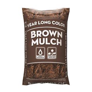 MISC Brown Mulch 2 CU FT