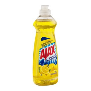 MISC Ajax Super Degreaser Dish Liquid, Lemon - 12.6 Fl Oz