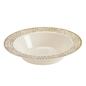 MISC Gold lace  Soup/Salad Bowl 10ct
