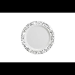 Silver lace  Dessert Plate 10ct
