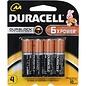MISC Duracell 1.5V AA Coppertop Alkaline Batteries (4-Pack)