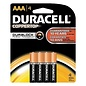 MISC Duracell 1.5V AAA Coppertop Alkaline Batteries (4-Pack)