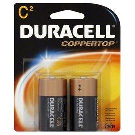 MISC Duracell C Coppertop Alkaline Batteries (2-Pack)