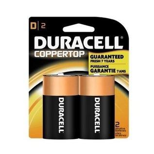 MISC Duracell D Coppertop Alkaline Batteries (2-Pack)