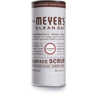 MISC Mrs. Meyer's Surface Scrub, Lavender, 11 Ounce