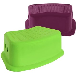 MISC Non-Slip Top Plastic Step Stool