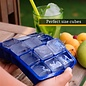 MISC Easy pop Silicone Perfect Size Ice Cube Tray