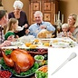 MISC Turkey Poultry Baster Syringe for Grilling and Baking (White)