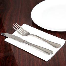 """MISC 15"""" x 17"""" White 3-Ply Dinner Napkin - 100/Pack"""