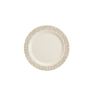 MISC Gold lace Dessert Plate  10ct