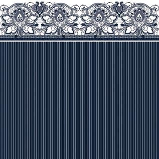 Bluesky Lace Napkins 20ct Navy