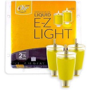 Ner Mitzvah EZ Light liquid 2.5 hr - 44 Pack