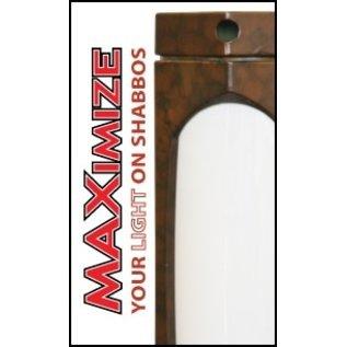 MISC KosherLamp Max Shabbat Lamp - Cherry Wood