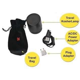 Kosher Innovations KosherLamp Travel - Black