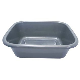 MISC Netilat Yedayim Square Plastic Wash Basin - Grey