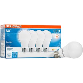MISC Sylvania  4 Pack, Daylight, 4 Count LED Bulbs