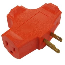 MISC Go Green 3-Outlet Wall Tap Adapter Outlet