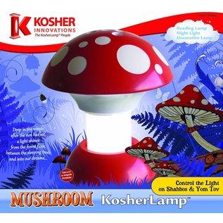 Kosher Innovations KosherLamp Mushroom - Red