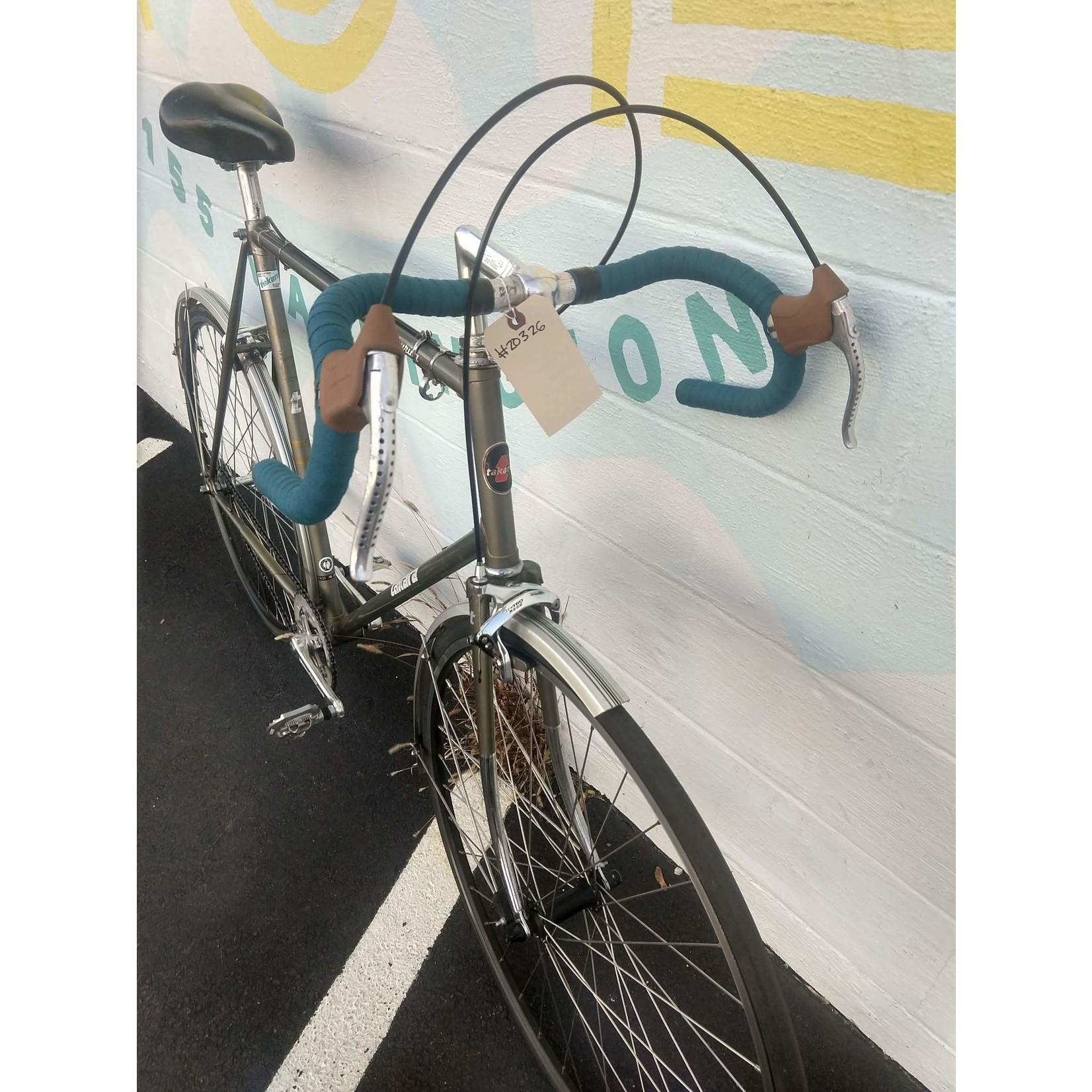 Portland Gear Hub Takara Grand Touring - 20326 - Grey - 62cm Frame - 700c Wheel