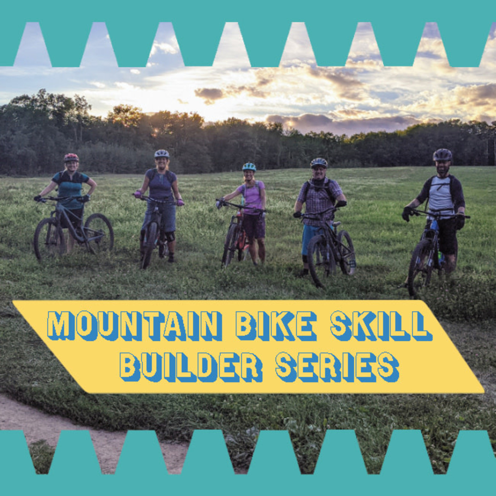 Portland Gear Hub MTB Skill Builder Fundamentals 1&2 Classes - Gorham Trails - June 8th & 15th