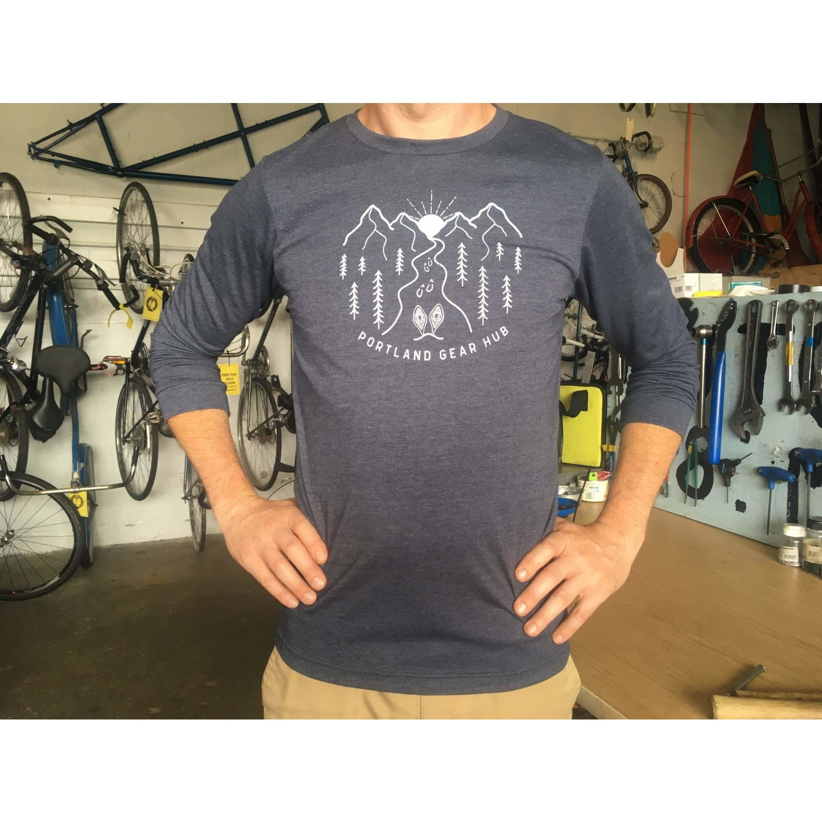 Portland Gear Hub PGH Hills & Trails Long Sleeve Shirt