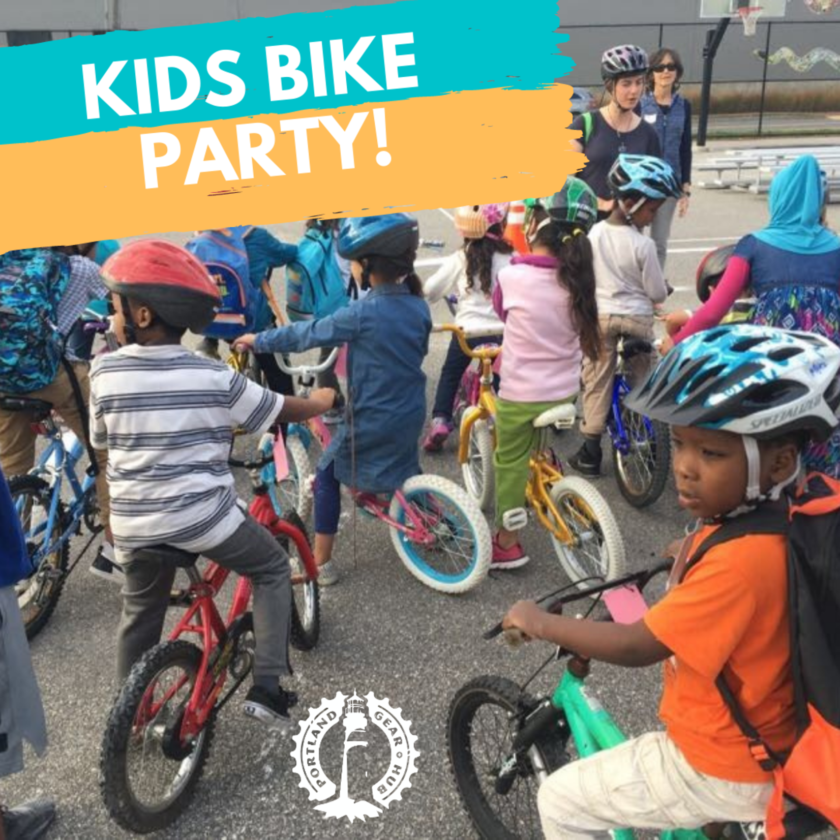 Kids Bike Party: June 5, 10:00am -1:00pm