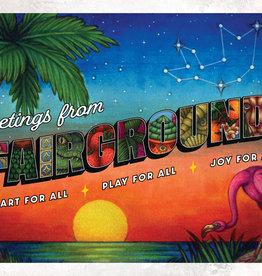 Fairgrounds St. Pete PostArt - Greetings from Fairgrounds