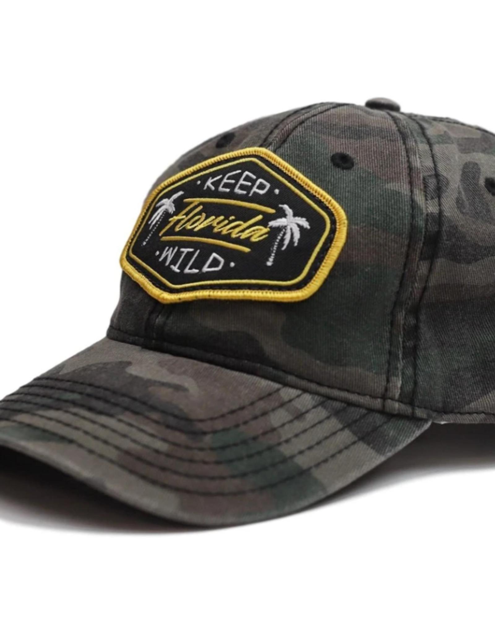 Sunshine State Goods Hat - Keep Florida Wild - Unstructured Camo