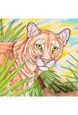 Canvas of the Wild Coloring Book - Wild Florida