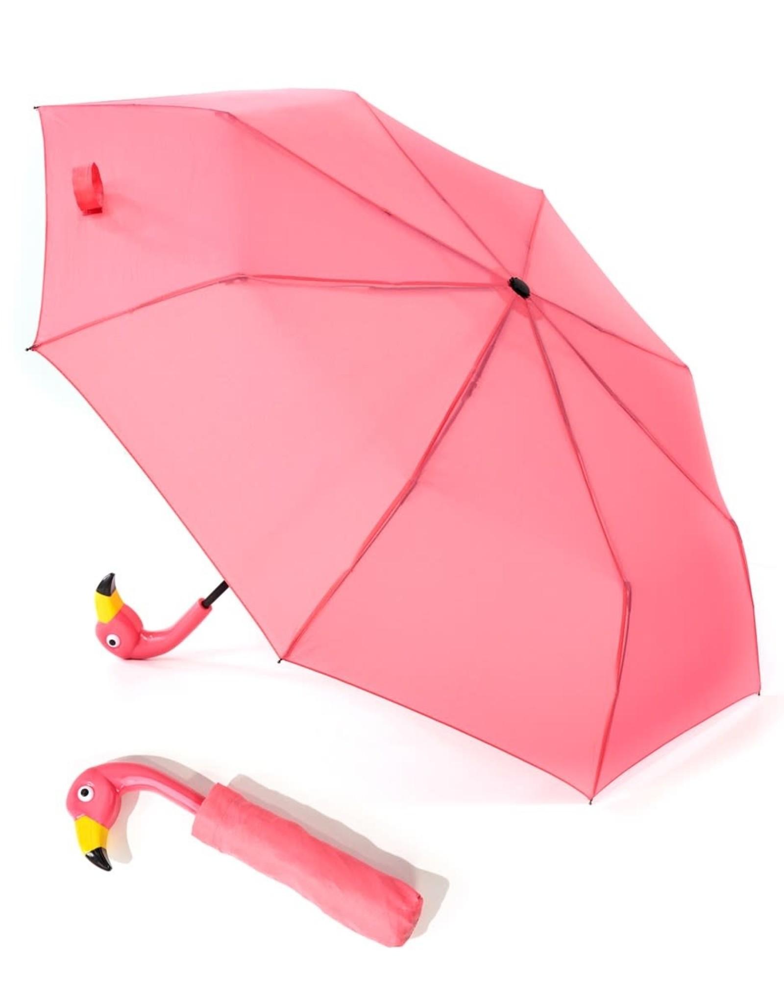 Umbrella - Compact Flamingo